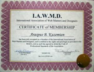 certificate 022
