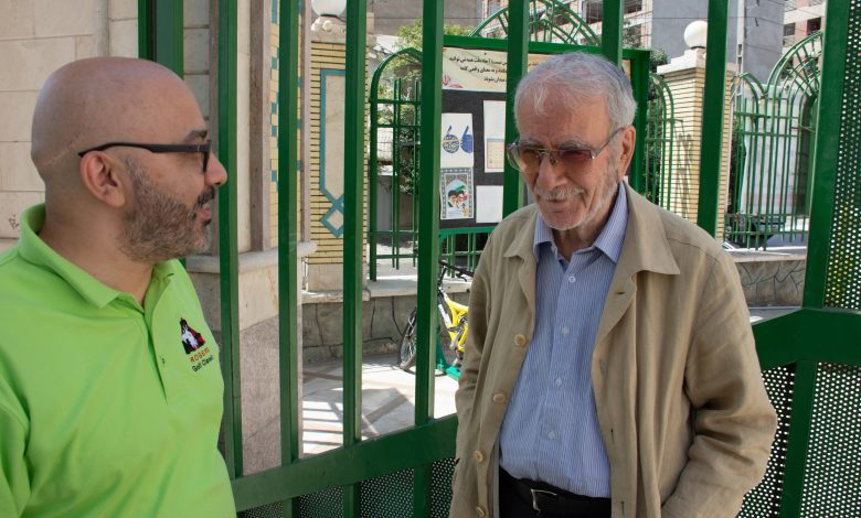 دکتر دینانی و آراسپ کاظمیان